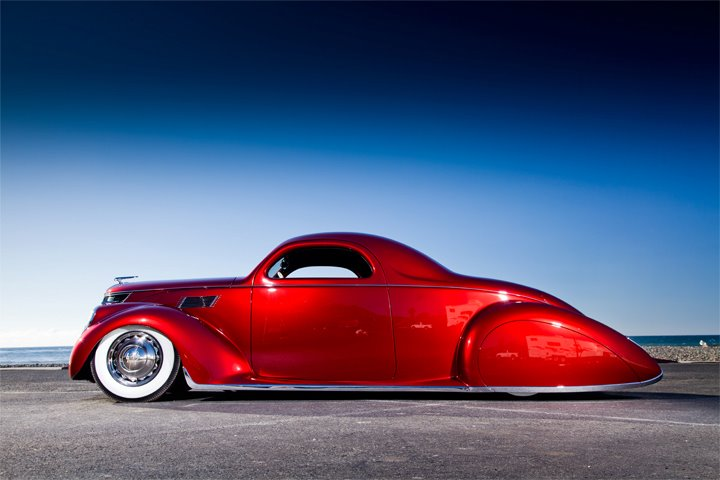 James Hetfield, 1937 Zephyr, Lincoln Zephyr