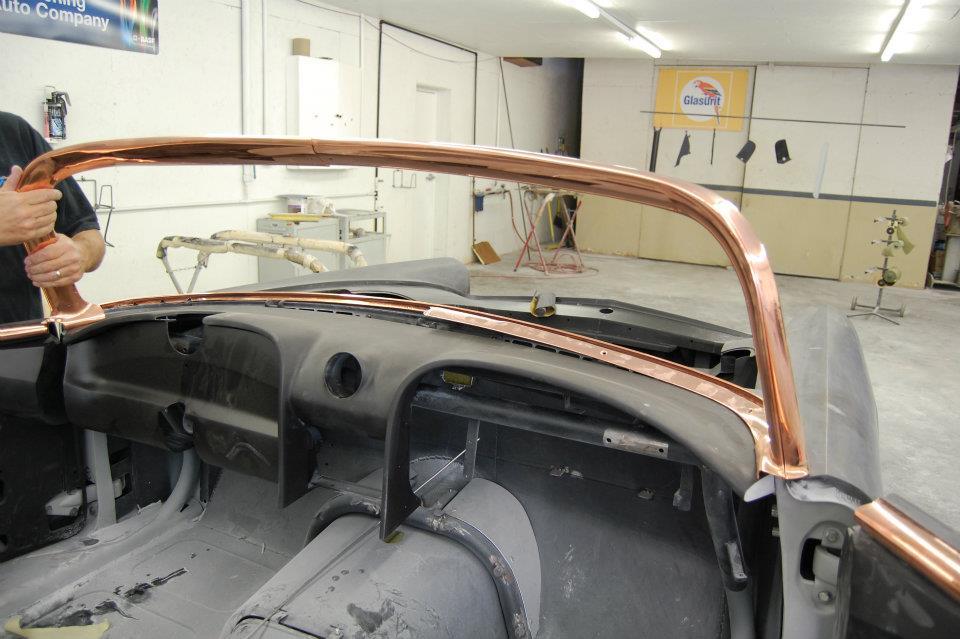 custom ford thunderbird, ridler award, 2012 detroit autorama