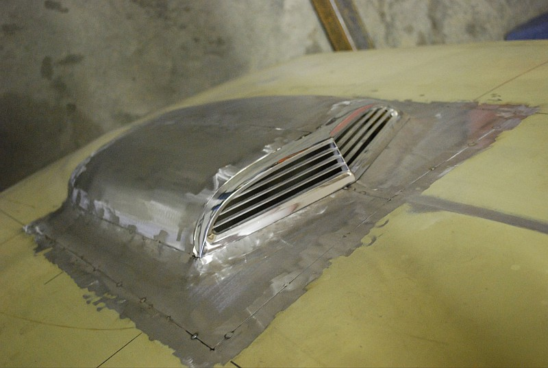Custom bodywork, custom 1955 Ford thunderbird, ridler winner