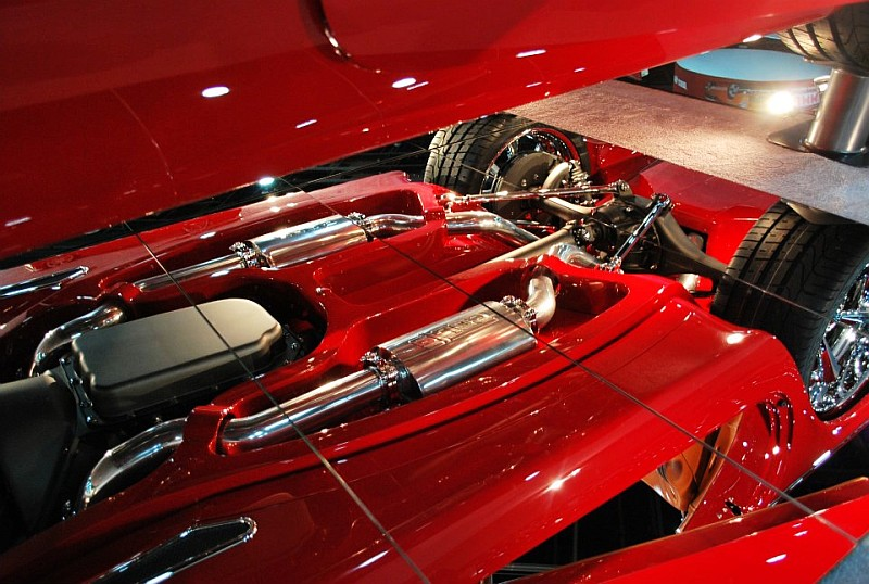 55 Thunderbird, Ridler Award Winner, 2012 Detroit Autorama