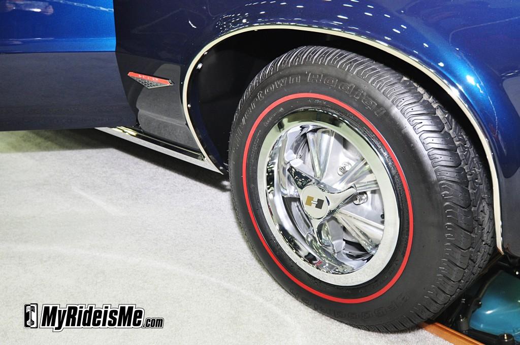 redline tires, hurst rims, hurst spinner