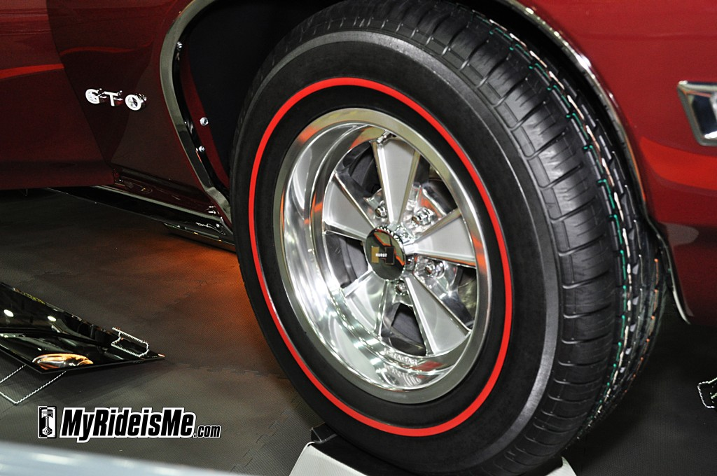 redline tires, hurst rims, nostalgia wheels
