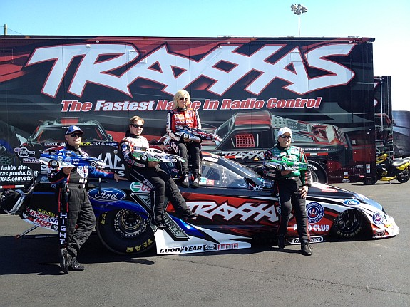 Scale Funny Cars, John Force Racing, traxxas funny cars