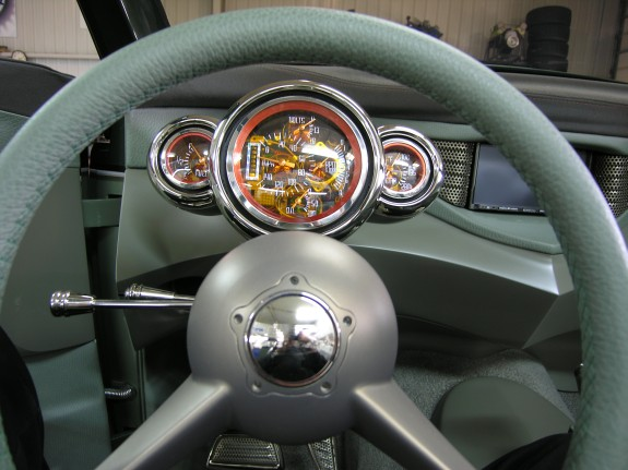 Custom car gauges, custom gauges, hot rod gauges