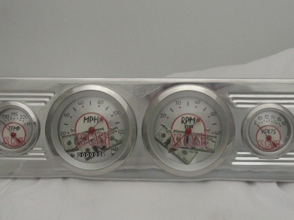 Custom Speedometer, Custom tachometer, custom car gauges
