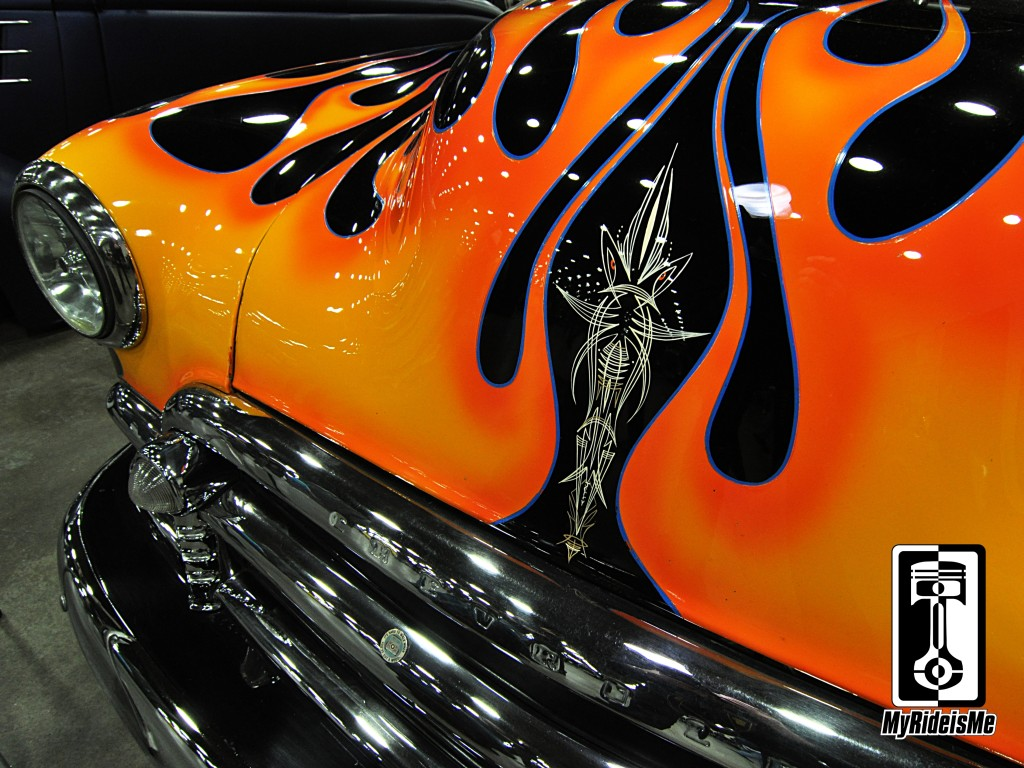 pinstriping, pinstriping designs, hot rod pinstriping