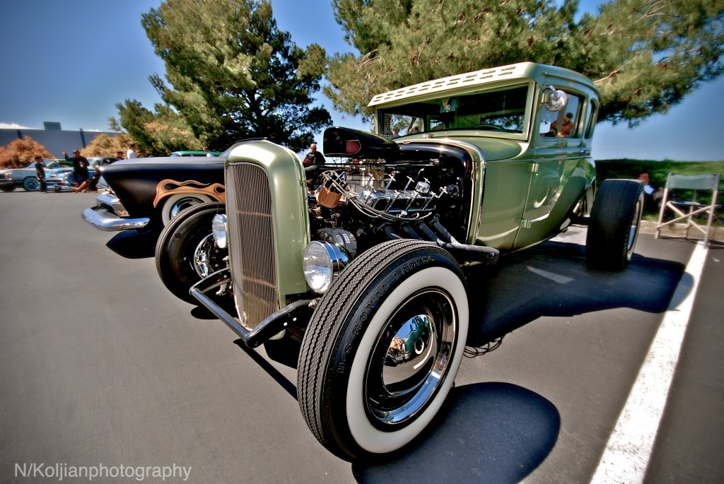 hot rod coupe, hot rod car, california custom car show