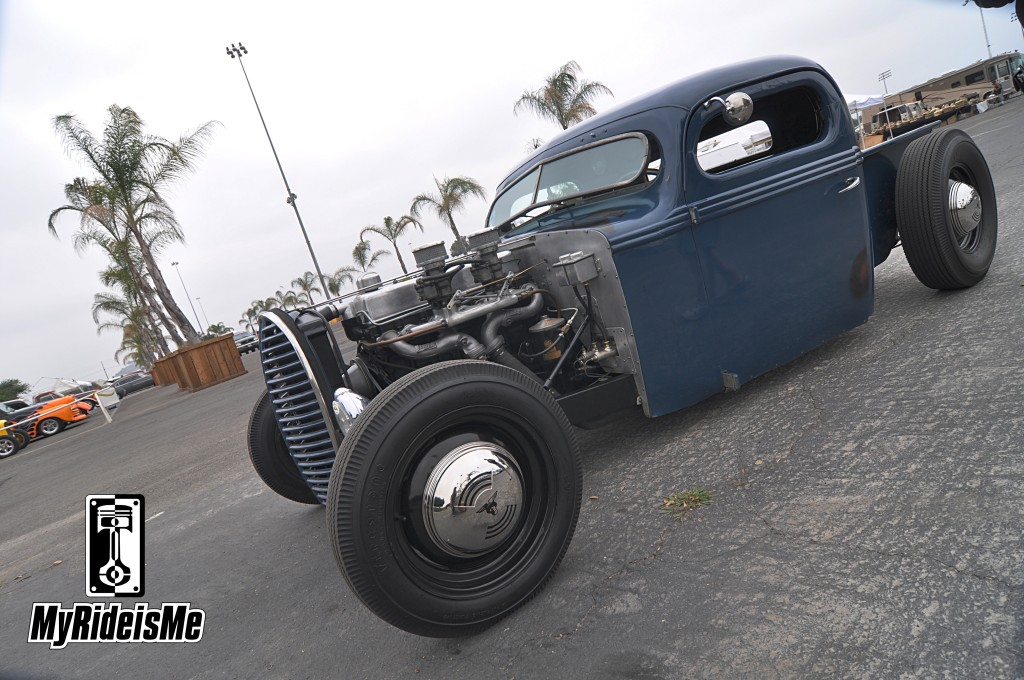 hot rod pickup, ford pickup, LA Roadster Show