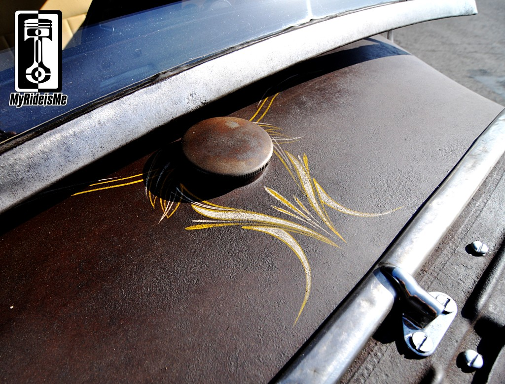 pinstriping, hot rod pinstriping, custom pinstriping