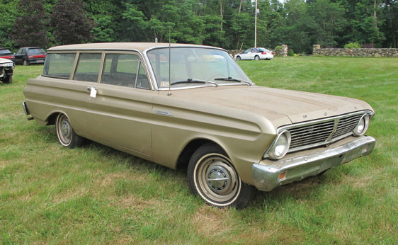 1965 Ford Falcon Wagon, falcon wagon, two door