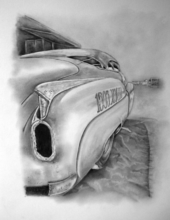 hot rod art, 1952 Buick Super Riviera
