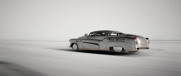Bonneville Salt Flat, 1952 Buick Super, speed week salt flats