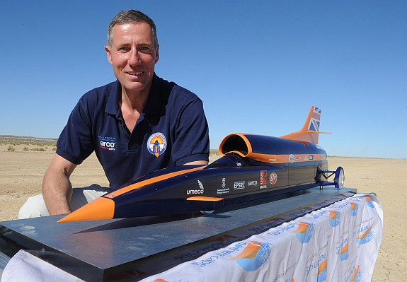 land speed racing, Andy Green, bloodhound SSC