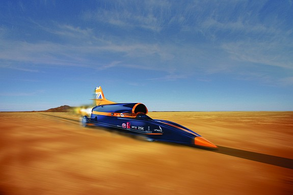 hot rod art, bloodhound SSC, land speed racing