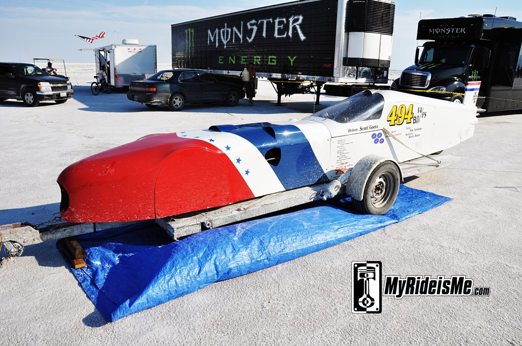 Bonneville Speed Week 2012, Bonneville Streamliner, land speed racing