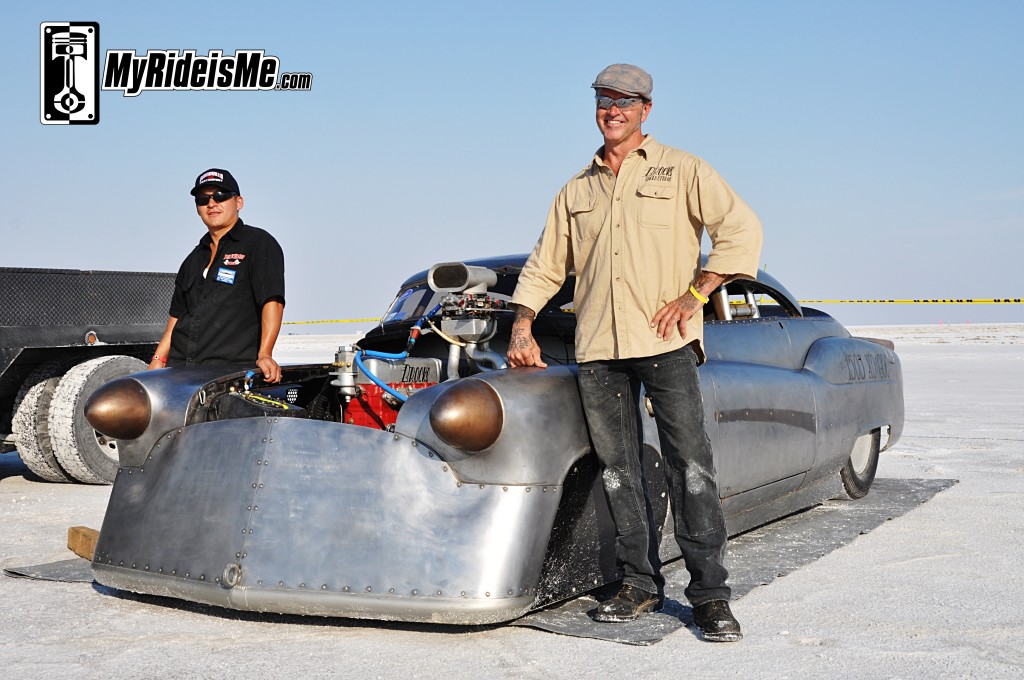 2012 Bonneville Speed Week, 1952 Buick Super Riviera, land speed racing