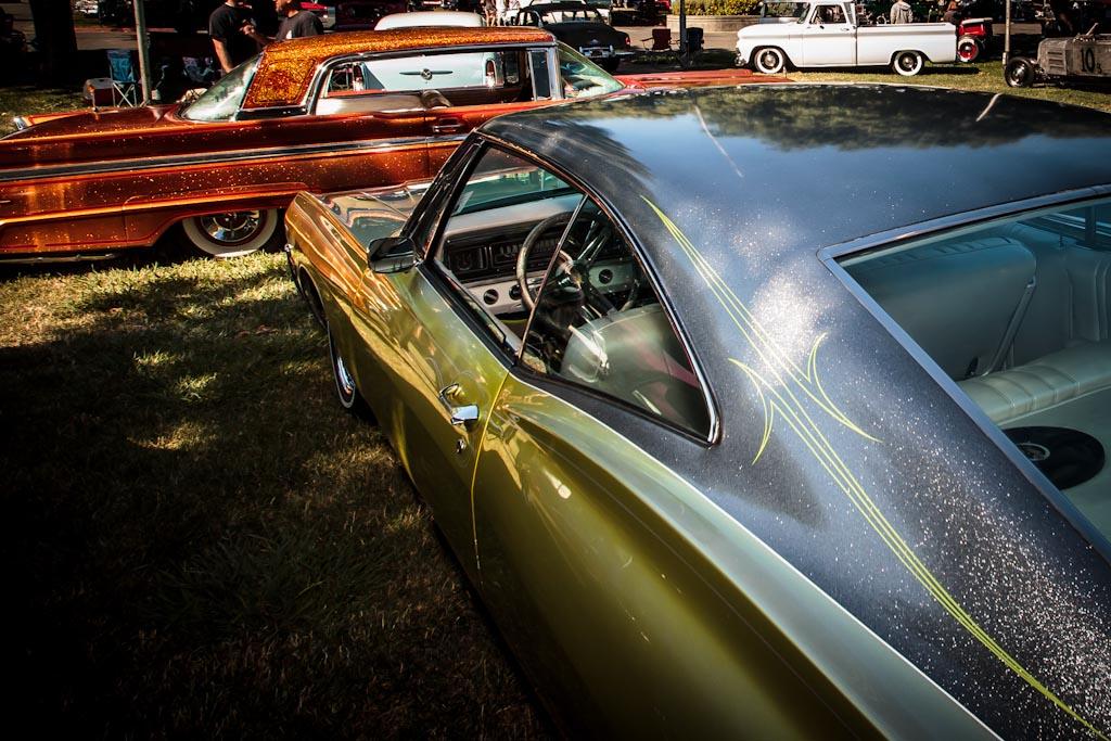 Custom Paint on Custom Cars - Metal Flaked Roof Photos ...