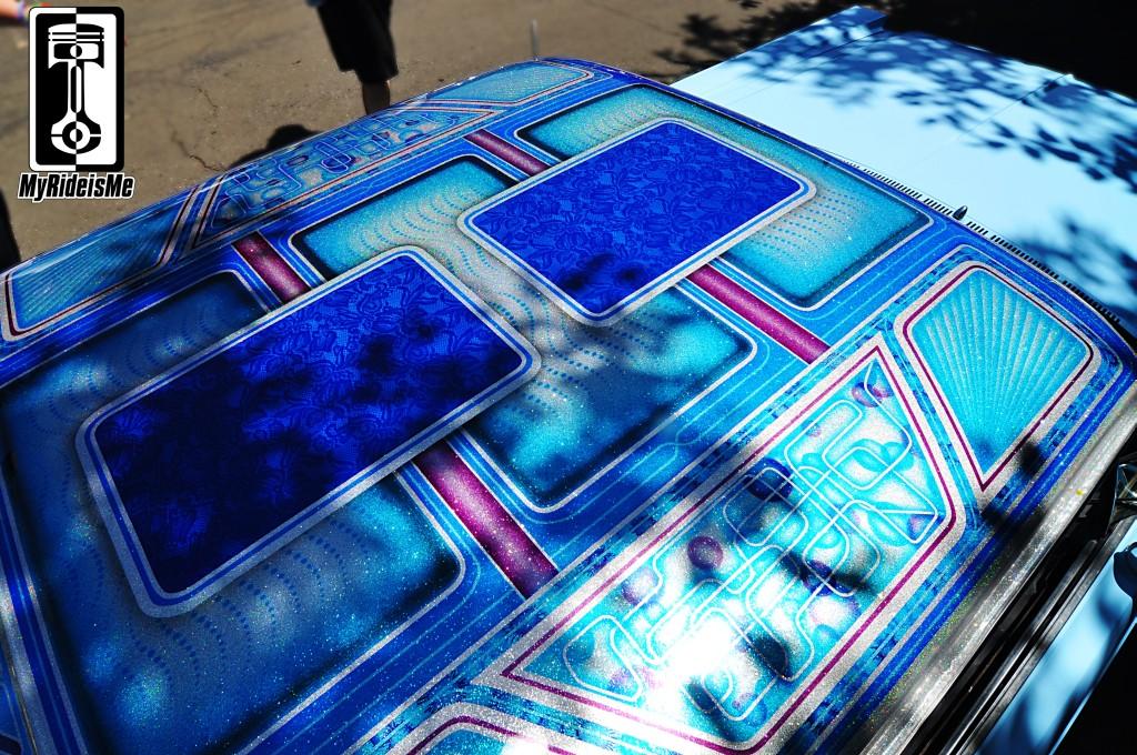 Blue Custom Car Paint Jobs The Same Car Custom Paint