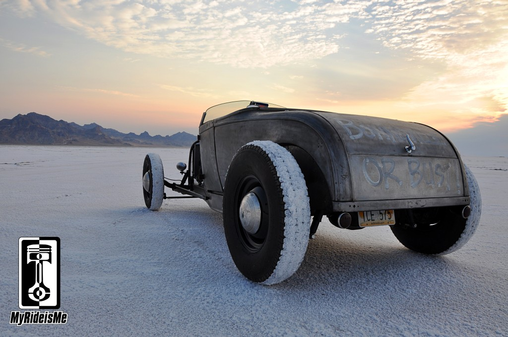hot rod, bonneville salt flats, model a roadster