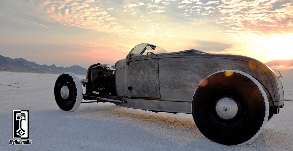 hot rod roadster, bonneville salt flats, model a roadster