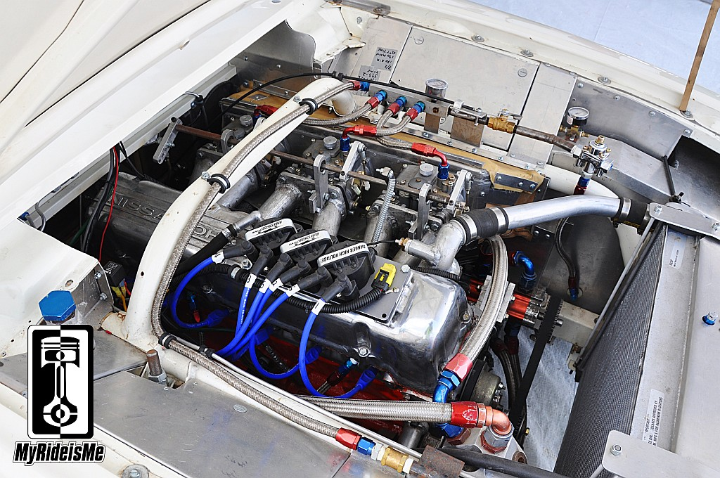 nissan 280 engine, ford falcon ranchero, land speed racing