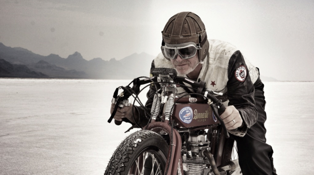 bonneville motorcycle, bonneville speed week, indian boardtrack racer