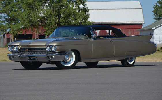 1960 Cadillac, 1960 Cadillac Eldorado Biarritz Convertible, Restored 1960 Cadillac