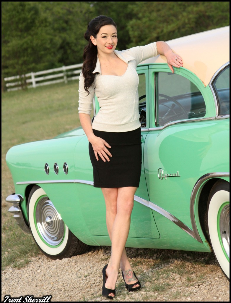 hot rod pinup, hot rod girls
