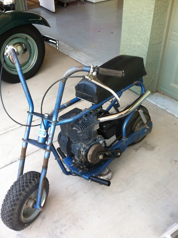 mini bikes, custom minibikes