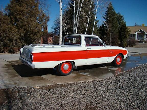 Ford Ranger Lug Pattern >> 1960 Falcon Ranchero -Bonneville Race Car Semi-Clone ...