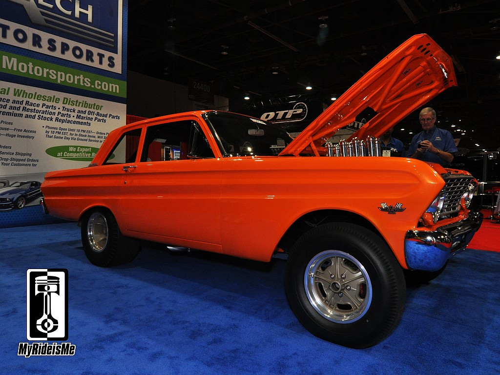 sema show, sema show car, hot rod falcon
