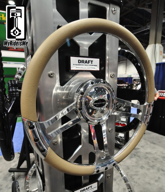 billet steering wheel, sema show