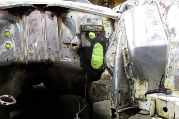 Ford falcon, prep for paint