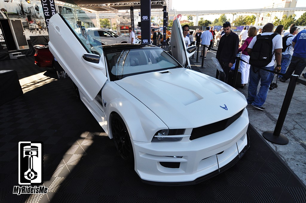 Galpin Auto Sports, custom mustang, jet fighter mustang