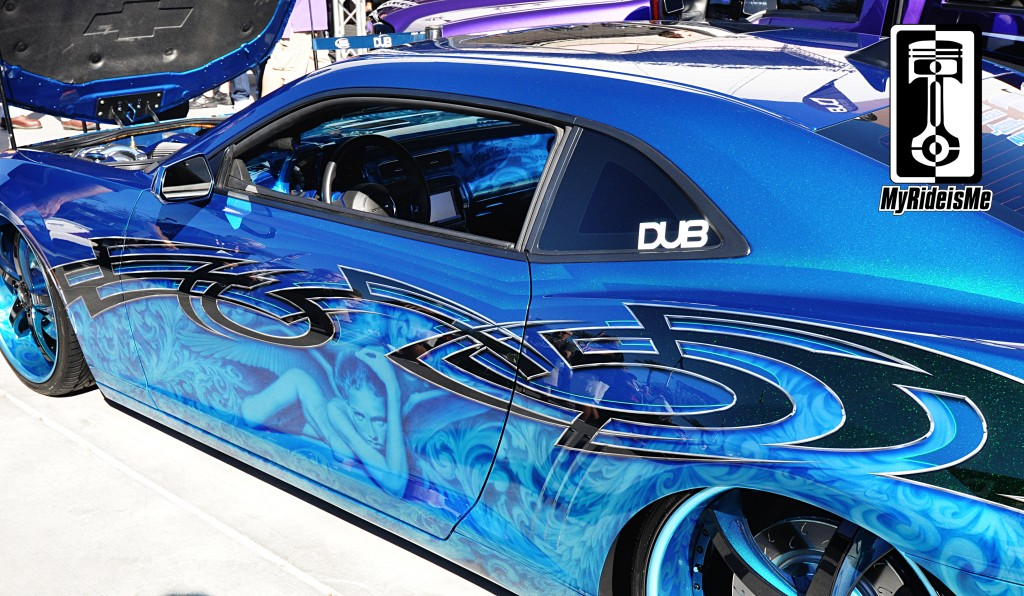 custom paint, custom airbrushing, airbrushed graphics, custom camaro