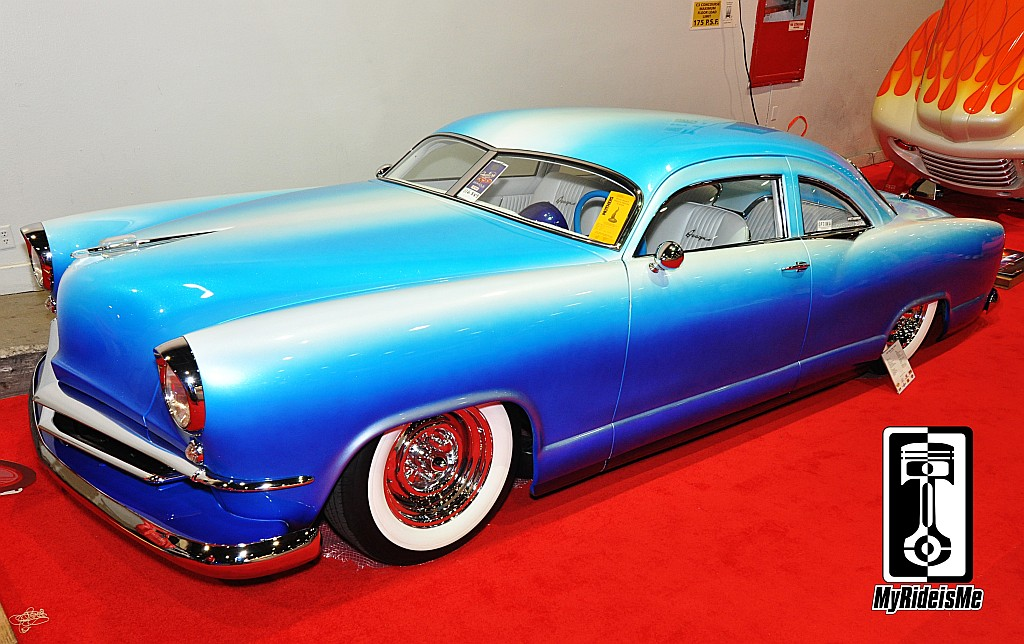 custom cars, custom paint, radical kustom, 1951 Kaiser