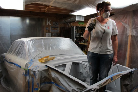ford falcon, 1960 ford falcon, paint prep