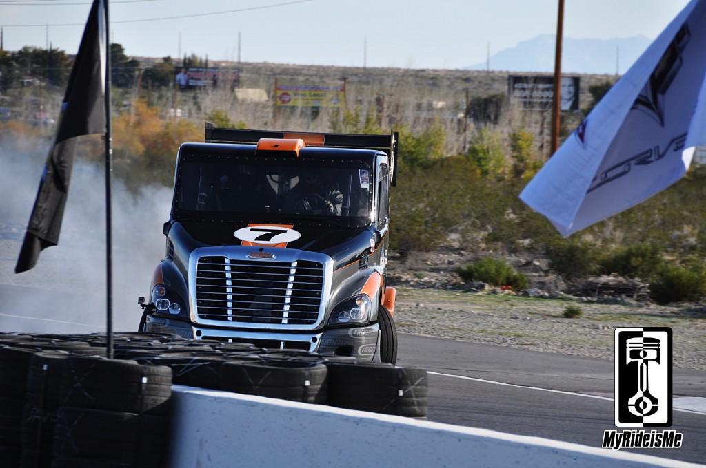 freightliner drift truck, pikes peak diesel, hot rod diesel, drifting diesel