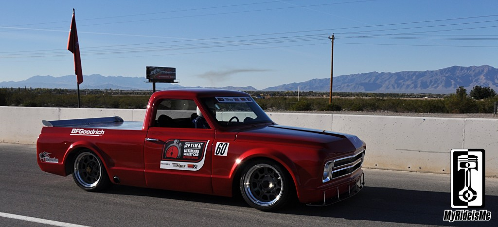Optima Invitational Pro Touring Chevy Trucks On Track