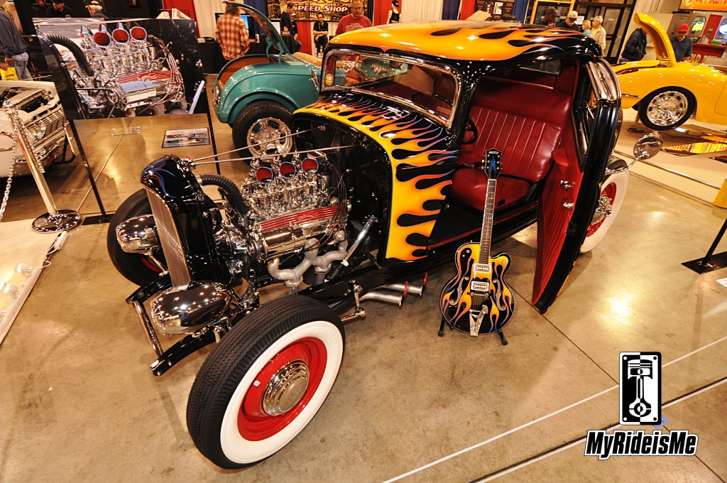 1932 hot rod, 2013 Grand National Roadster Show, hot rods and custom cars, 1932 3 Window Coupe, hot rod