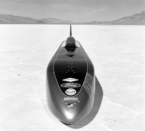 land speed racing, Mickey Thompson challenger, bonneville salt flats