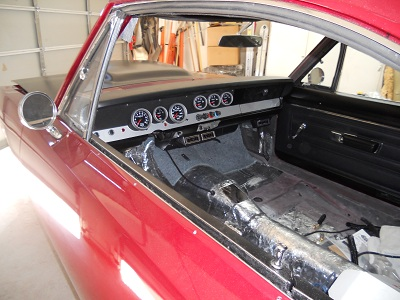 1967 Barracuda, custom dash, how-to