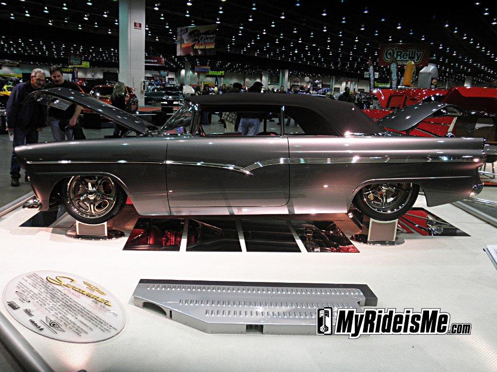 1956 Ford Sunliner Convertible,detroit Autorama Ridler winner, GNRS AMBR winner