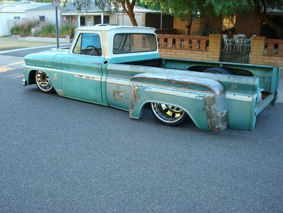 Build Story Custom 1964 Chevy Dually Hammered On 22s