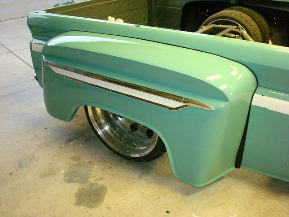 Custom 1964 Chevy C10, c10 dually fenders, how to build fenders