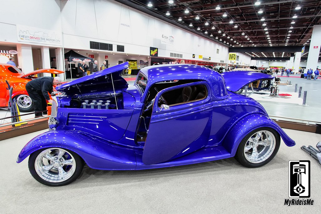1934 Ford, 34 ford hot rod,2013 Detroit Autorama