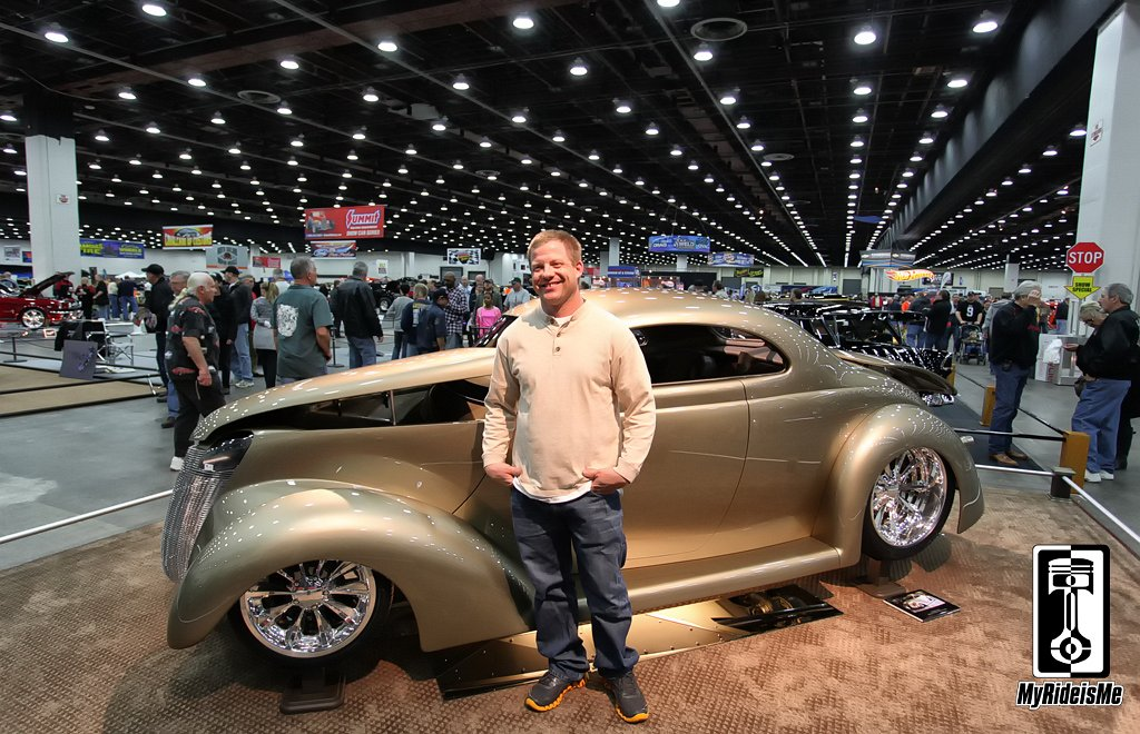 1937 Ford Coupe,2013 Detroit Autorama