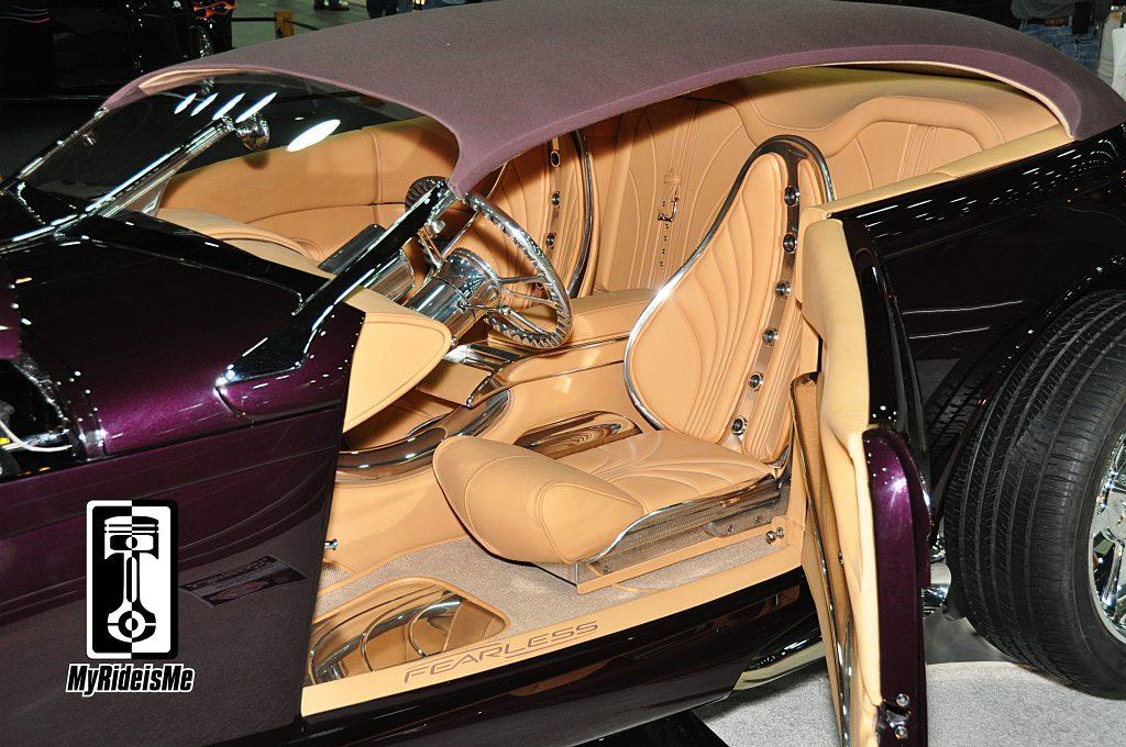 custom seats, custom upholstery,Ridler Award 2013