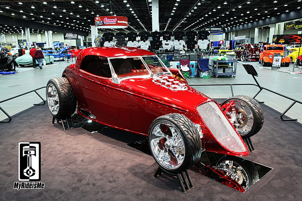 1934 Hot Rod, Hot Rod Coupe,Ridler Award 2013