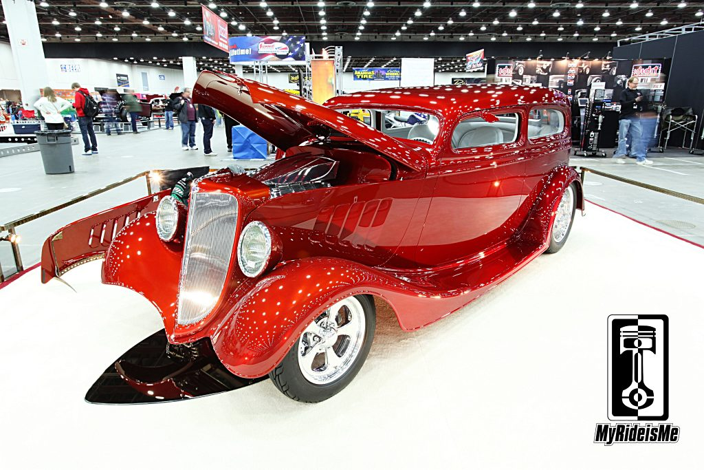 1934 hot rod, hot rod sedan,Ridler Award 2013